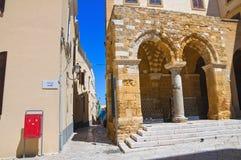 Portico dei Templari. Brindisi. Puglia. Italy. Royalty Free Stock Photos