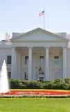 Portico del nord della Casa Bianca  Immagine Stock