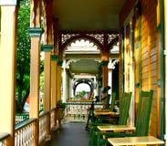 Portico del Victorian Immagini Stock