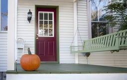 Portico di autunno Fotografie Stock