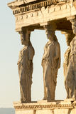 Portico di Caryatides Immagini Stock Libere da Diritti