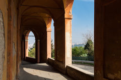 Portico di San Luca Royalty Free Stock Photos
