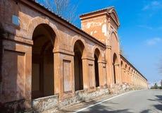 Portico di San Luca Stock Image