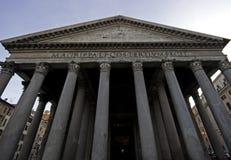 Portico do panteão, Roma Imagens de Stock
