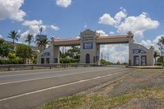 Portico of Itu city - Brazil Stock Photo