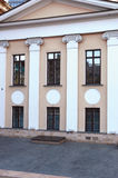 The Portico Moscow mansion Lobanov-Rostov on Butcher Street Stock Photo