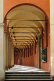 Portico of the National Art Gallery. Bologna, Italy. Portico of the National Art Gallery Stock Photography