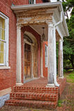 Portico. In Shepherdstown West Virginia royalty free stock photography