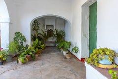Portico tradizionale fotografia stock