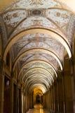 Portico from Via Farini, Bologna, Italy Royalty Free Stock Photo