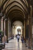 Porticoes болонья стоковые изображения rf