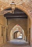 Porticoes In Ferrara Stock Image