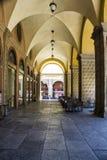 Porticoes van Bologna Stock Foto