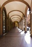 Porticoes van Bologna Royalty-vrije Stock Foto's