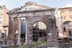 Porticus Octaviae Stock Image