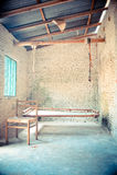 Portiek van oud huis Stock Afbeelding
