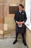 Portier bij het Hotel Turnberry Stock Fotografie