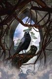 Portier dans le royaume des rêves Image stock