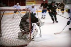 Portiere dell'hockey Immagini Stock Libere da Diritti
