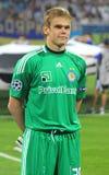 Portiere Maxym Koval di Kyiv della dinamo di FC Fotografia Stock Libera da Diritti