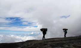 Portiers de Kilimanjaro Image stock