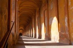 Portik di San Luca, Bologna Royaltyfria Foton
