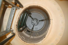 Portilla de escape submarino Foto de archivo libre de regalías