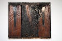 Portilla de madera Foto de archivo libre de regalías