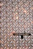 Portilla del metal Fotografía de archivo