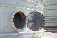 Portilla en el tanque. Imagen de archivo