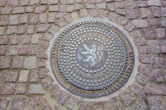 Portilla en Praga Fotos de archivo