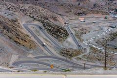 Portillo Mountains Chile Stock Photos