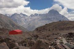 Portillo Mountains in Chile Royalty Free Stock Photos