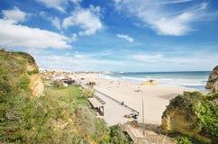 Portimao beach in Algarve, Portugal Royalty Free Stock Image