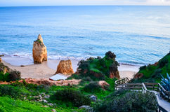 Portimao Beach Royalty Free Stock Images