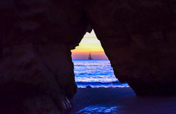 Portimao Beach Stock Images