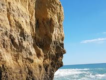 Caves and grottos of Portimao,Portugal Stock Photo