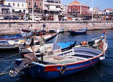 Portimao harbour, Portugal. Royalty Free Stock Photography