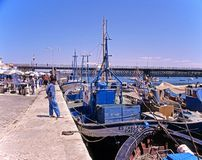 Portimao harbour, Portugal. Royalty Free Stock Photo