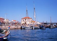 Portimao harbour, Portugal. Royalty Free Stock Photos
