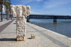 Portimao i Portugal royaltyfri bild