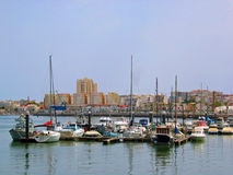 Portimao marina Royalty Free Stock Images