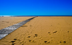 Portimao plaża Obraz Stock