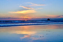 Portimao plaża Obraz Royalty Free