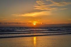 Portimao plaża Zdjęcie Royalty Free