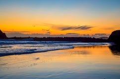 Portimao plaża Zdjęcia Royalty Free