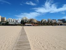 Portimao-resort on the Atlantic coast Royalty Free Stock Photo