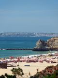 Portimao-resort on the Atlantic coast Royalty Free Stock Photos