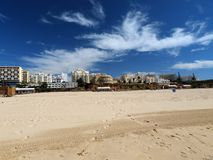 Portimao-resort on the Atlantic coast Stock Photo