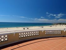 Portimao-resort on the Atlantic coast Stock Images